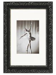 Cadre Photo Baroque Noir 20x30 cm