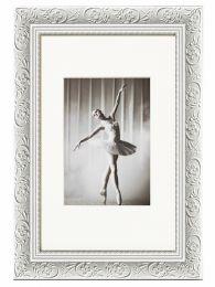 Cadre Photo Baroque Blanc 30x40