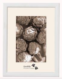 Cadre Photo en Bois Merano Blanc