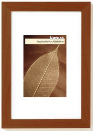 Cadre photo en Bois Natura Noyer