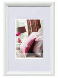 Cadre Photo en Bois Live Blanc