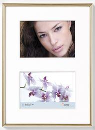 Cadre Photo Multivues Galeria 2x10x15 Or