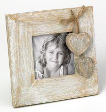Cadre Photo Le Coeur 9x9 carré avec coeur
