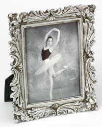 Cadre Photo Portrait Saint Germain Argent