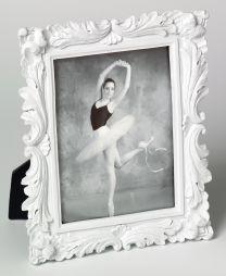 Cadre Portrait Saint Germain Blanc