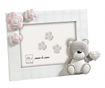 Cadre Photo Mascagni Ours 13x18 Rose
